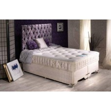 5FT SLUMBERDREAM MEMORY GEL ORTHO ZIP & LINK DIVAN